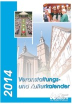 Titelblatt Veranstaltungskalender 2014