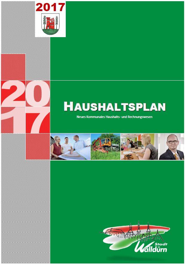 Haushaltsplan 2017