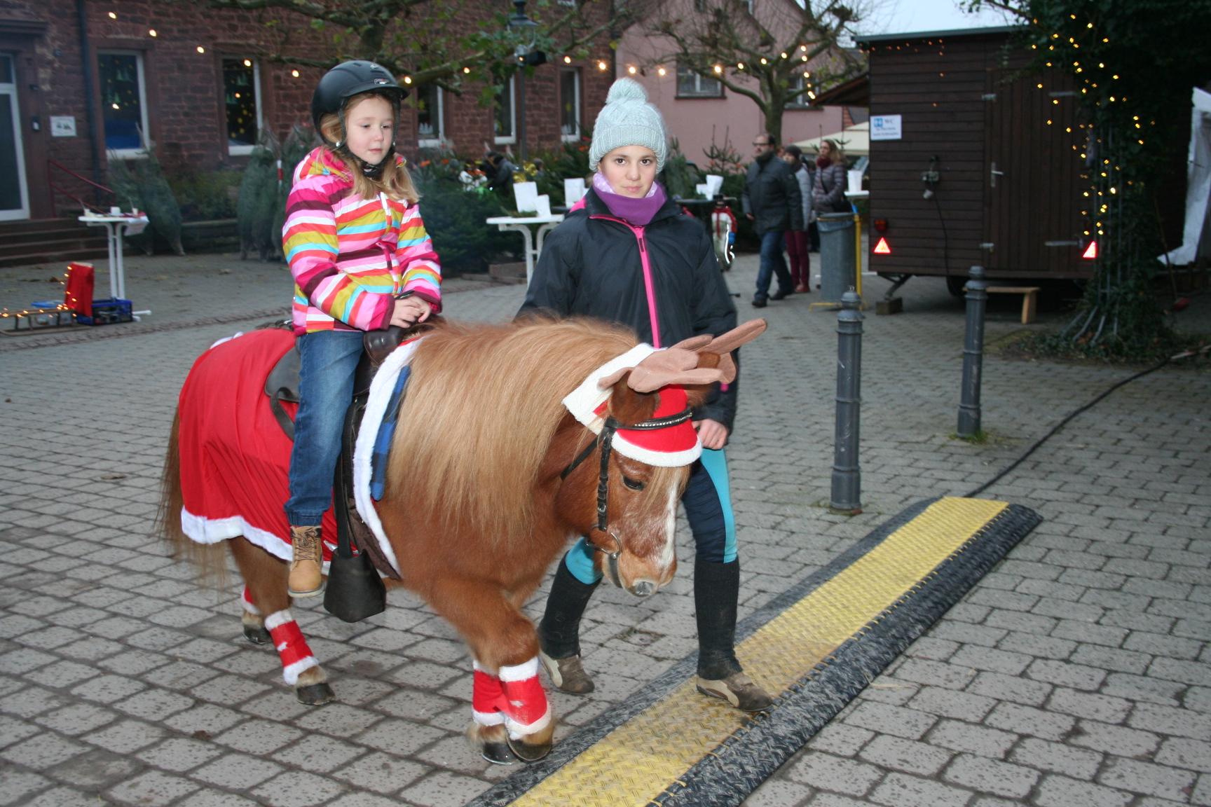 Ponyreiten