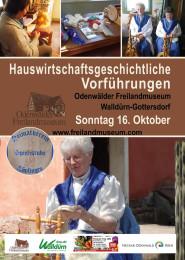 Freilandmuseum_Hauswirtschaftliche Vorführungen