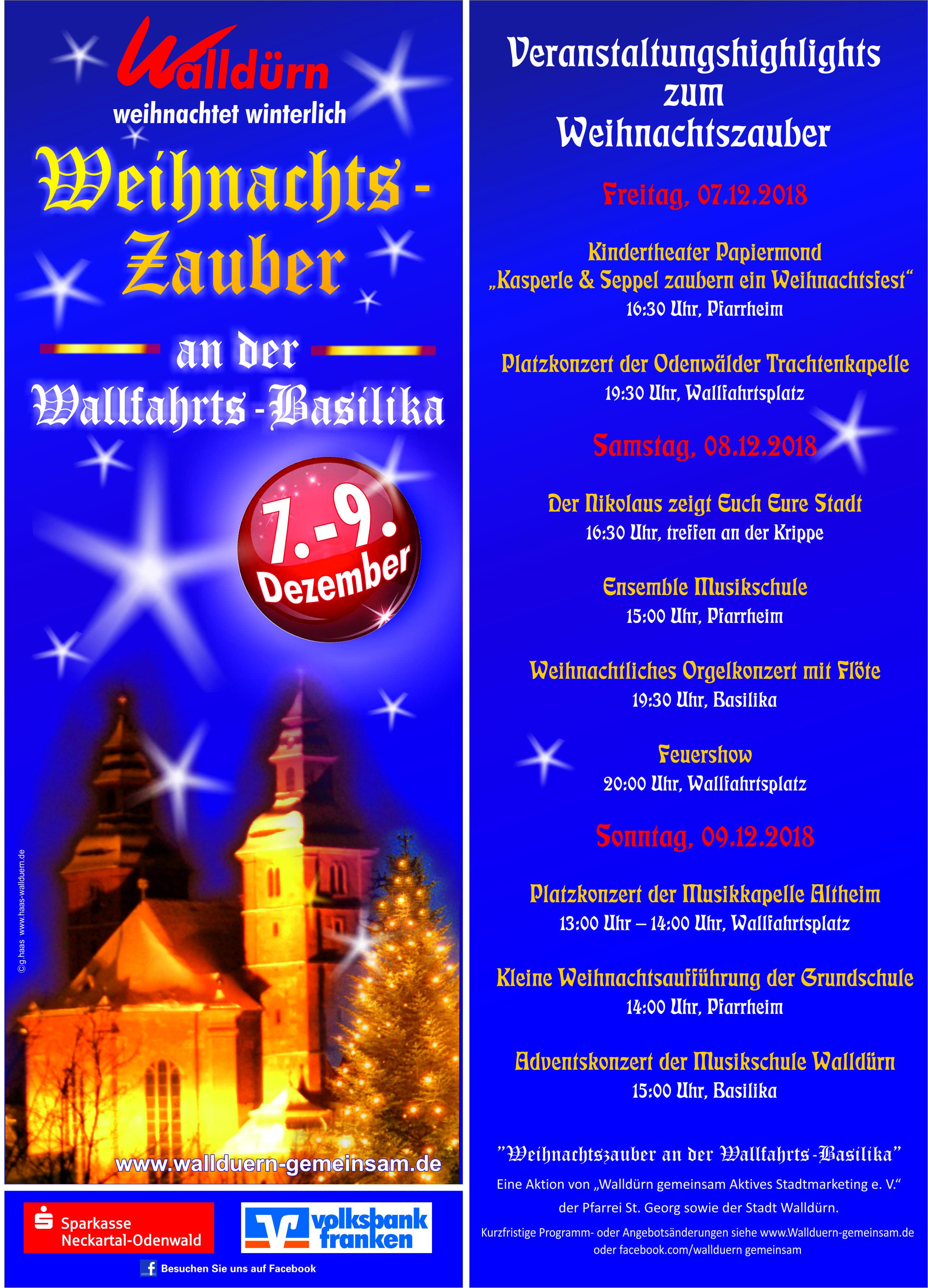 Flyer Weihnachtszauber