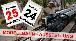 """Topthema """"Modellbahn-Ausstellung"""""""