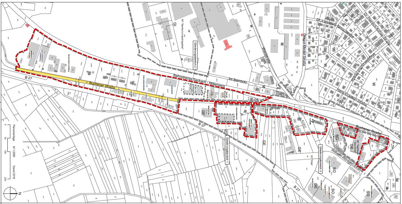 Plan Buchener Straße
