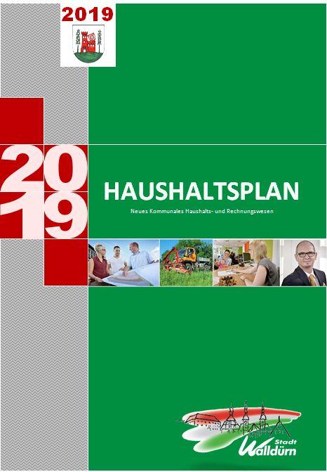 Haushaltsplan 2019