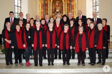 Gruppenbild des Chors