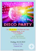 Disco Party im Haus am Limes