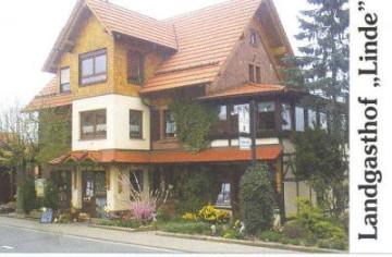 Gebäudeansicht Landgasthof Linde
