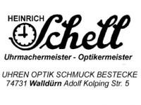 Uhren-Optik-Schmuck Schell
