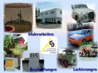 Schneider Ludwig GmbH Malerbetrieb - Autolackiererei