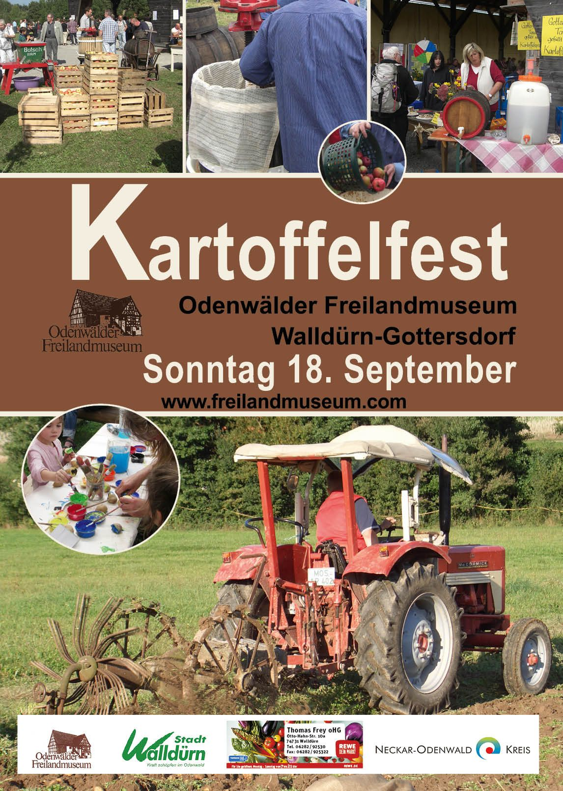 Kartoffelfest am 18. September
