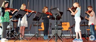 Jahresabschlusskonzert 2017 Musikschule