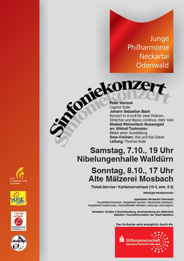 Plakat Sinfoniekonzert