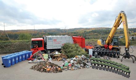Müllmenge