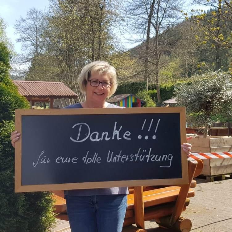Brigitte Mehl sagt Danke