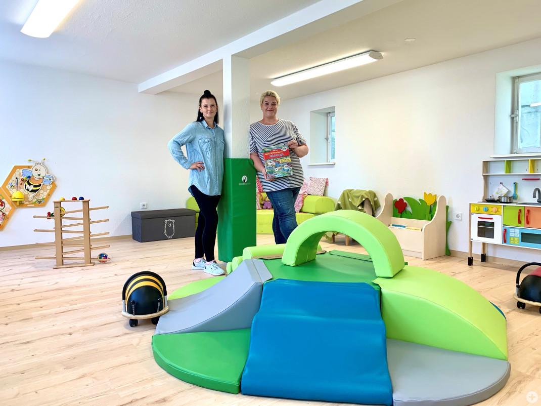Kindertagespflege Zwergenstübchen - Tagespflegepersonen in den Räumen