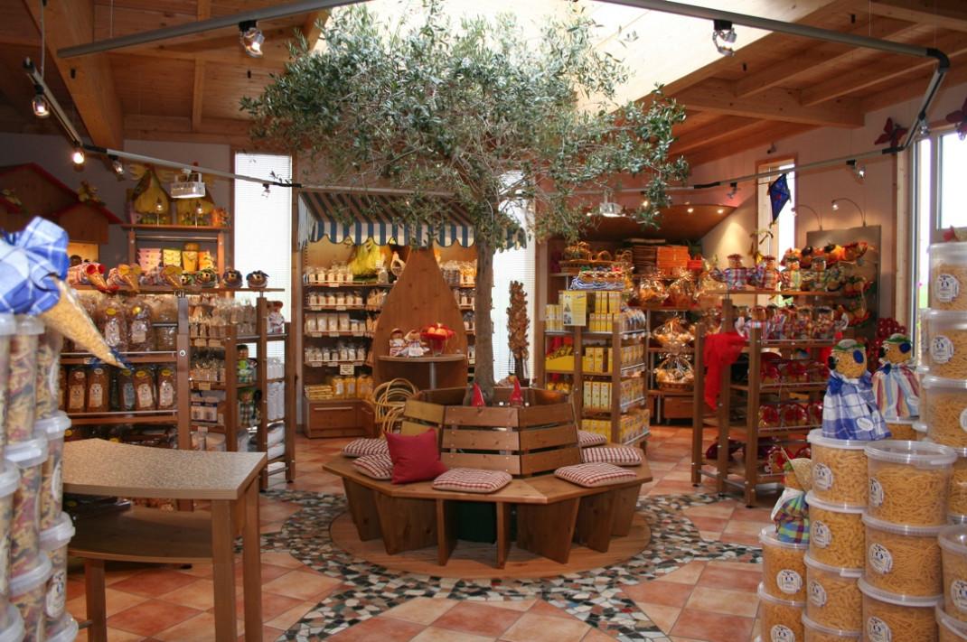 Ein Blick in den Hofladen der Firma Nudel-Berres.