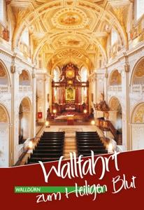 Die Titelseite zum Wallfahrtsprospekt der Stadt Walldürn.